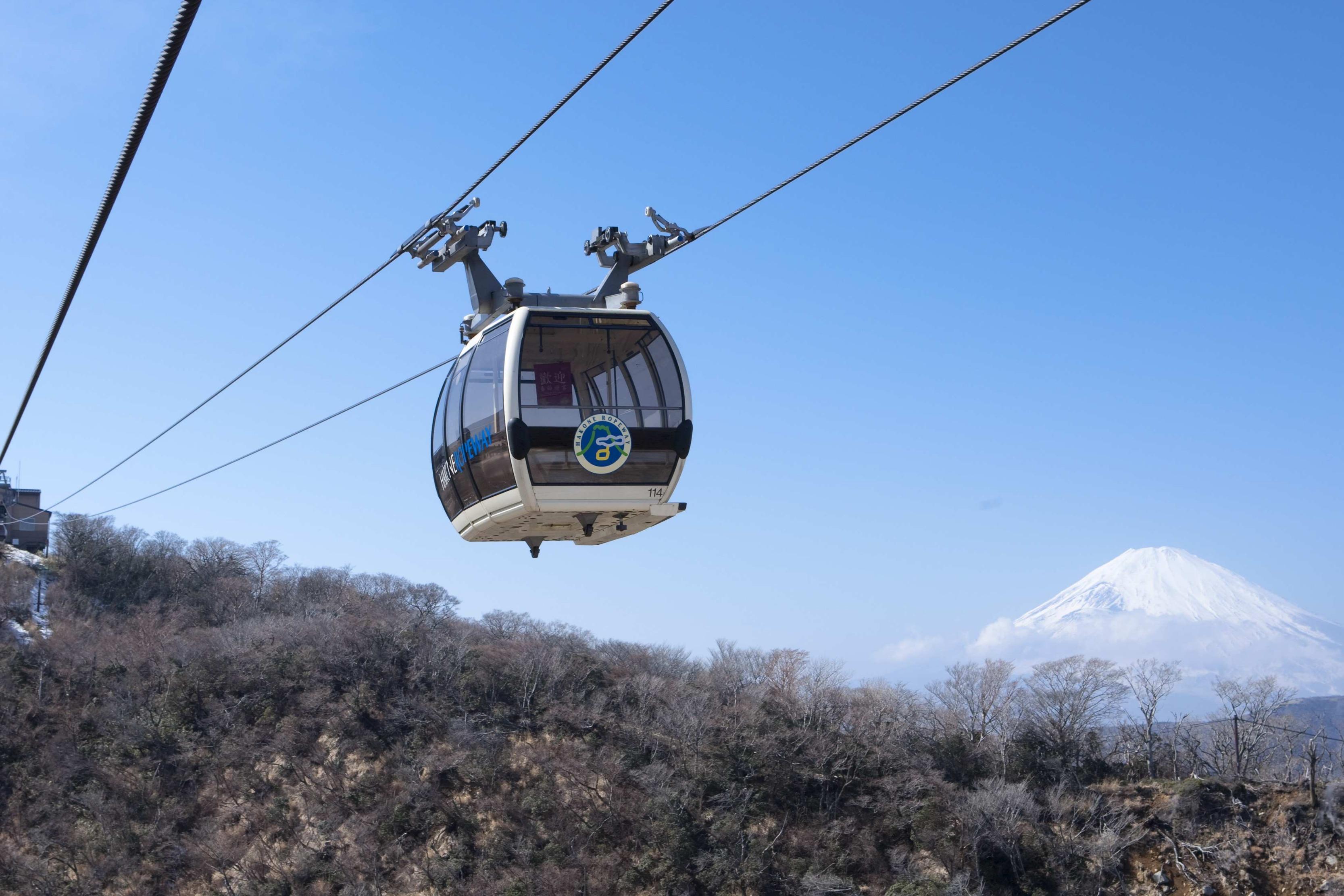 ロープ&富士山3
