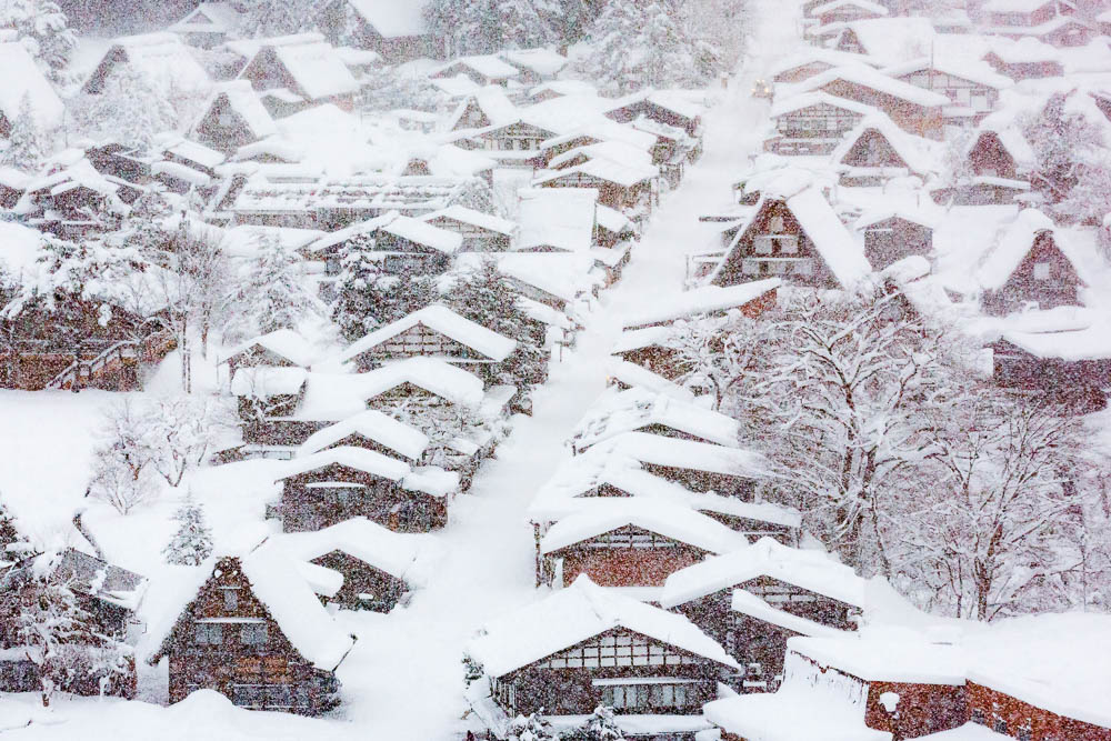 shirakawago world heritage village unesco