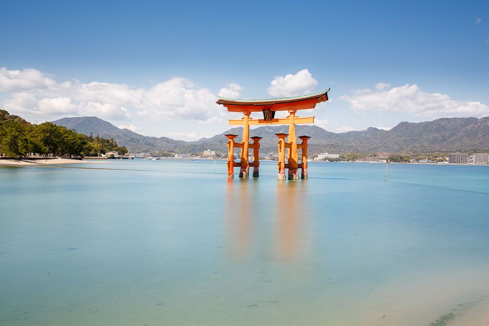 Japan Miyajima torii