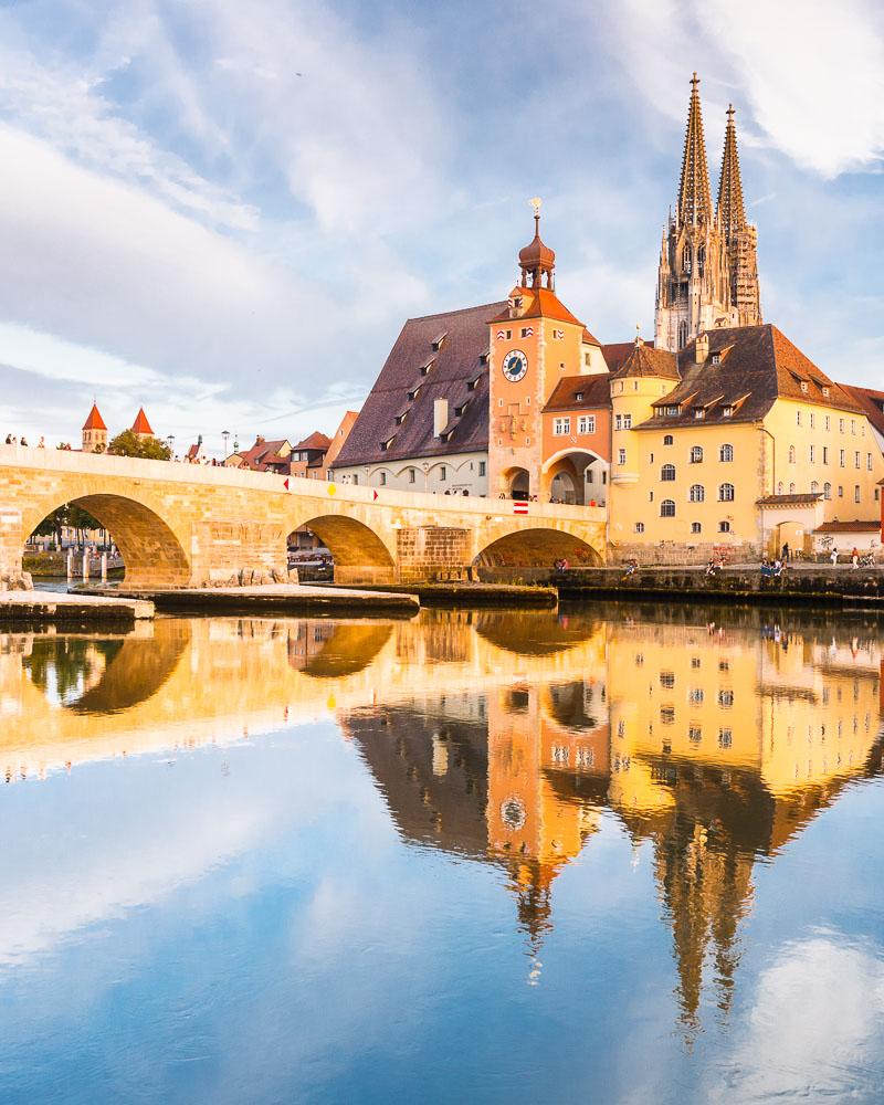 Allemagne Germany UNESCO Regensburg – 01