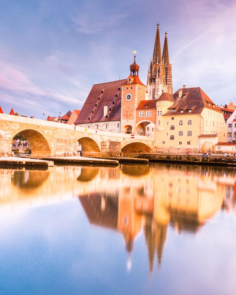 Allemagne Germany UNESCO Regensburg – 02