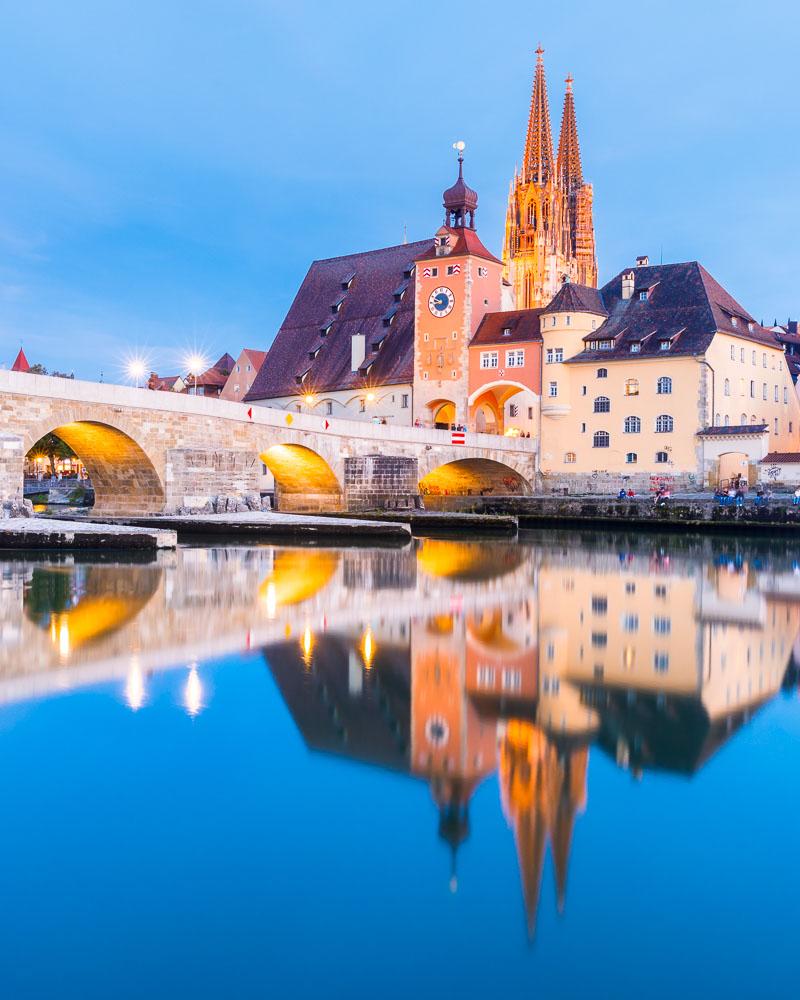 Allemagne Germany UNESCO Regensburg – 03