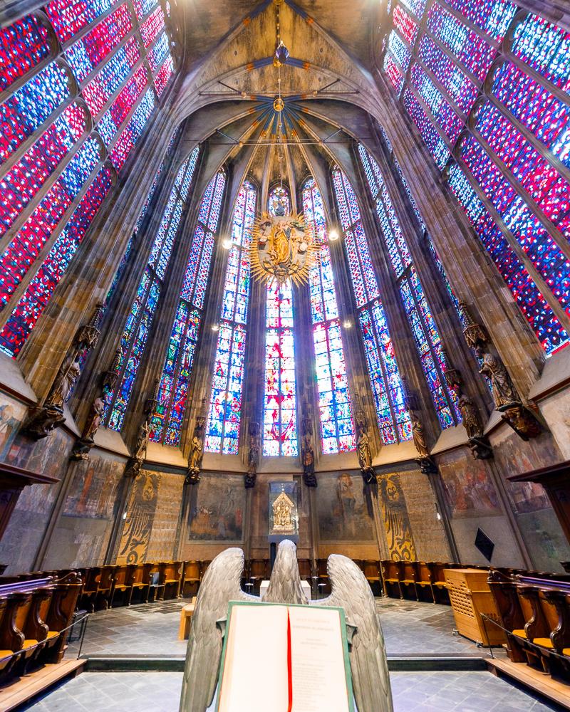 Choeur Cathedrale d'Aix la Chapelle