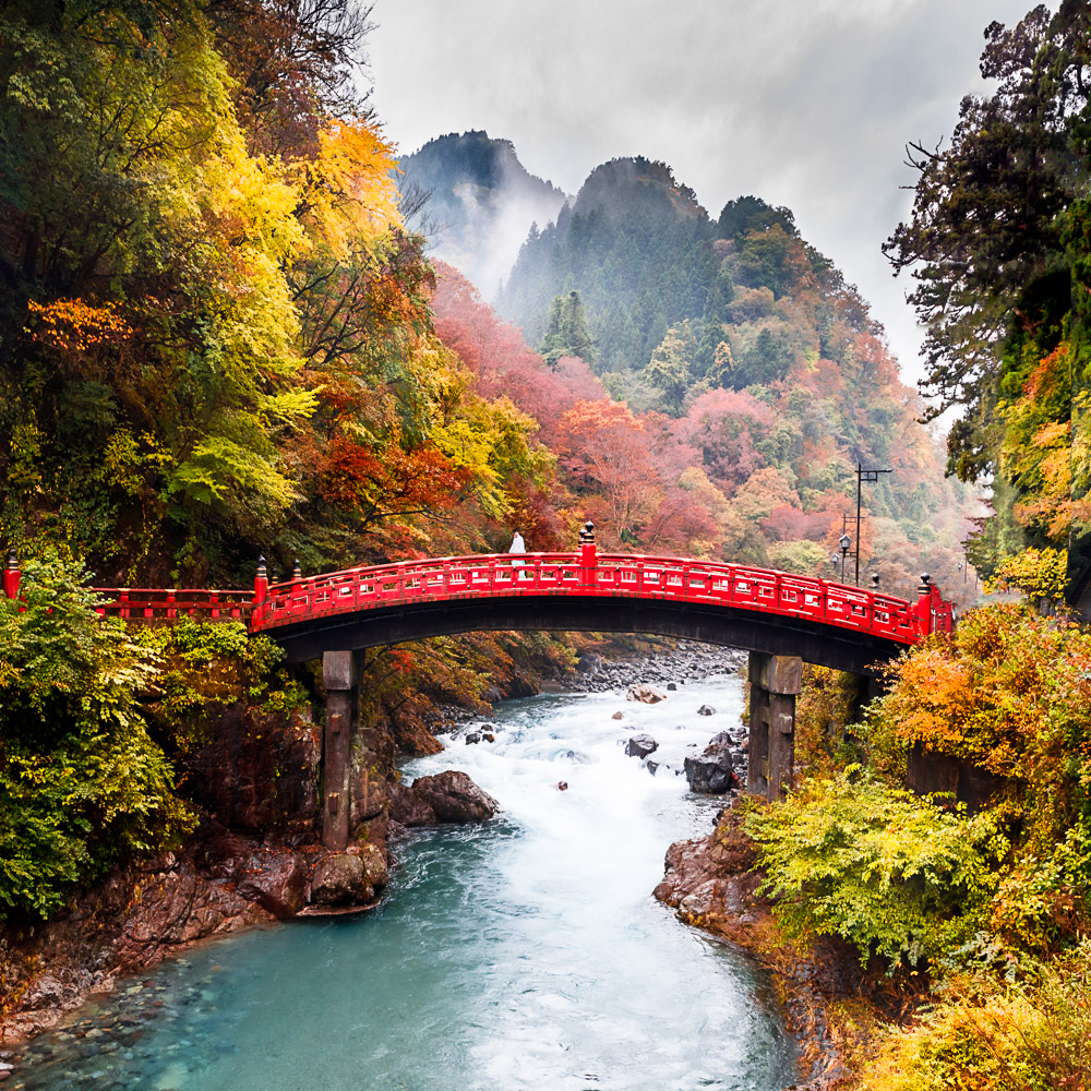 UNESCO Nikko Japan Bridge