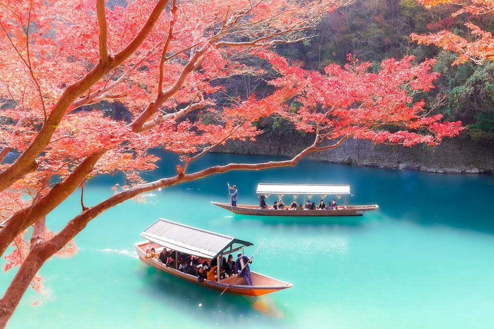 Japan momiji autumn Loic Lagarde Kyoto arashiyama