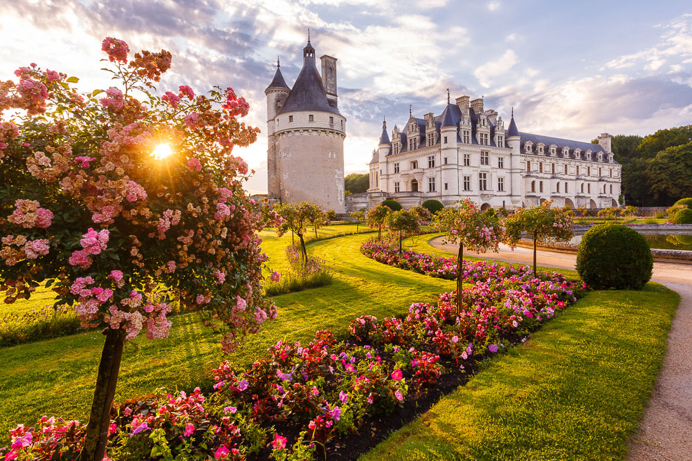 Loire Valley Castle - Chateau de la Loire - Loic Lagarde - France - UNESCO World Heritage - Chenonceau