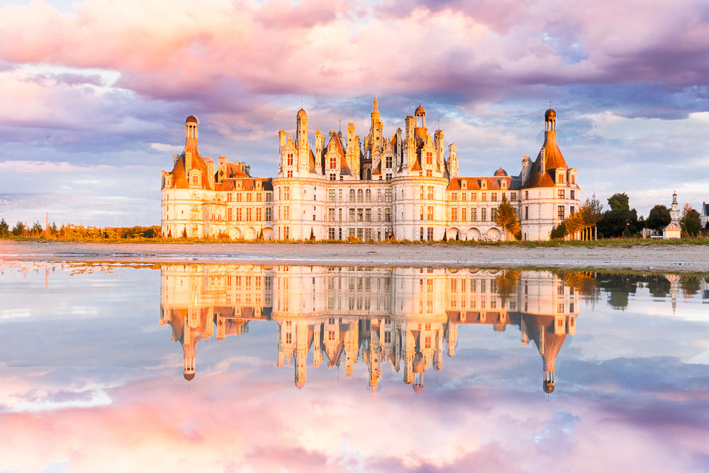 Loire Valley Castle - Chateau de la Loire - Loic Lagarde - France - UNESCO World Heritagev - Chateau de Chambord