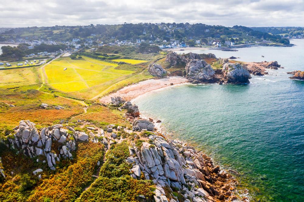 Baie de Morlaix Bretagne Finistere Pointe de Primel 01