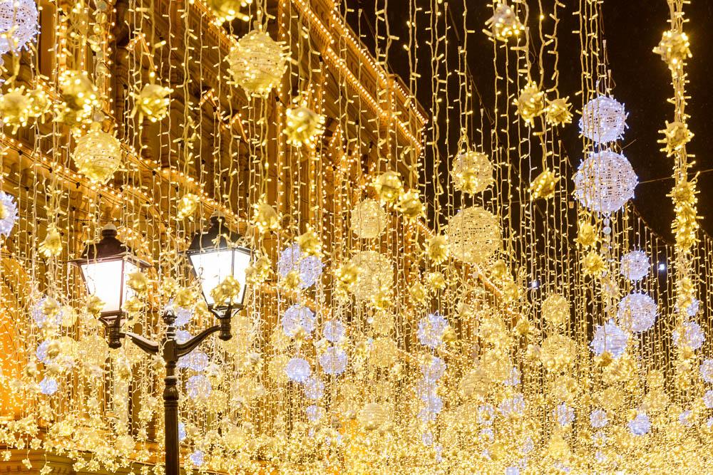 Christmas in Moscow in Russia - Noel a Moscou en Russie - Goum