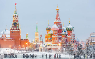 Top 10 photo spots in Moscow at Christmas