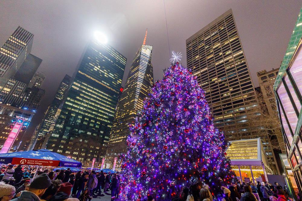 Christmas in New York City - Noel a New York - Bryant Park 01