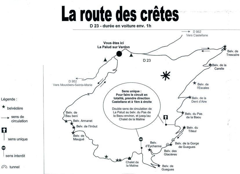 Route des Crêtes Verdon