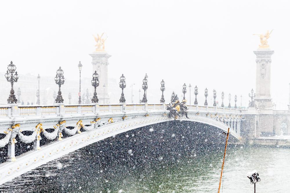 Paris with snow - Loic Lagarde -1-2