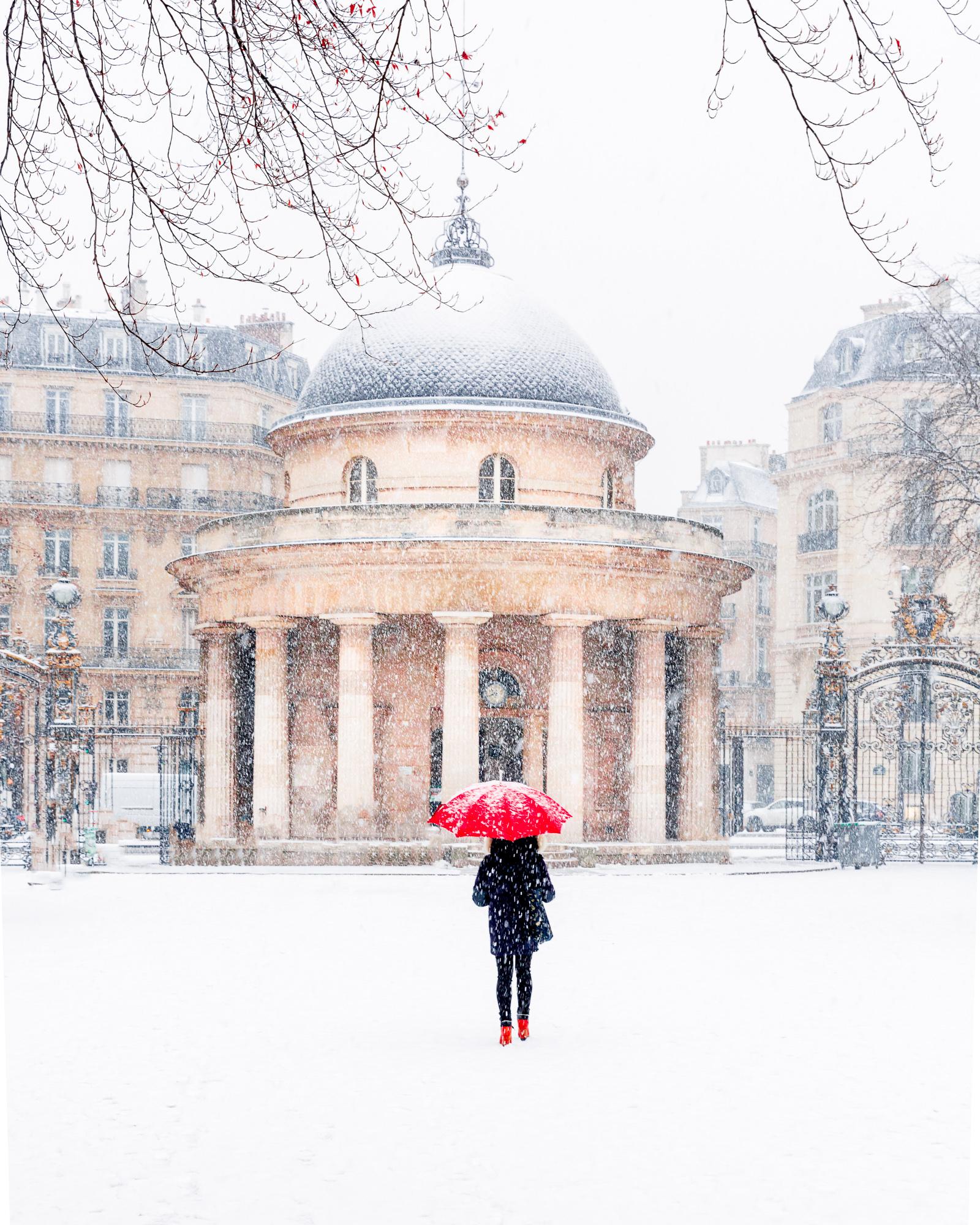 Snow in Paris in winter - Loic Lagarde -14