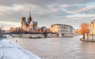 Top photo spots in Paris under the snow