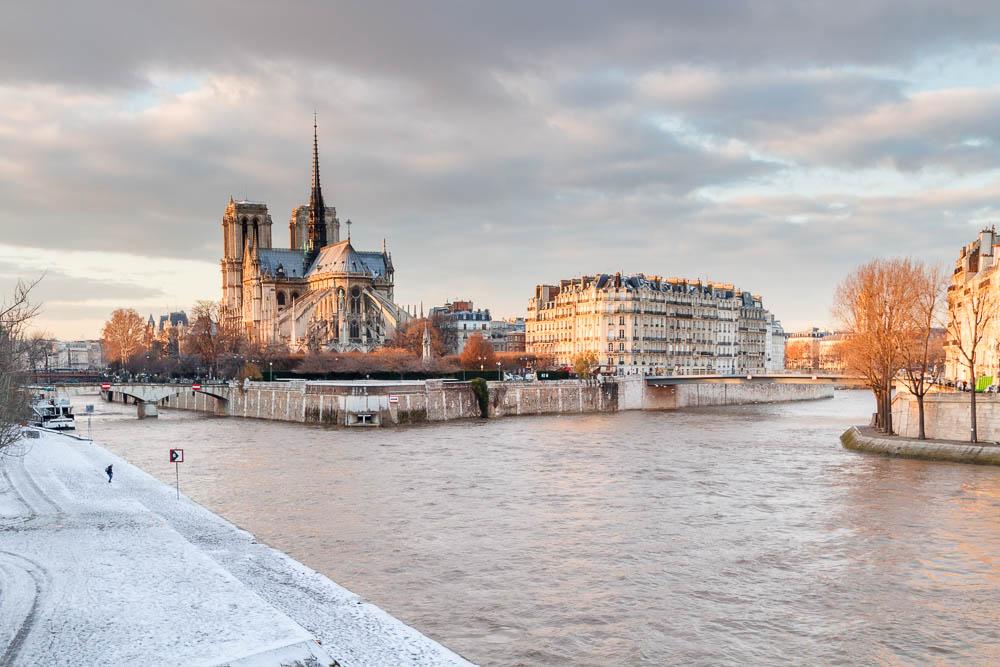 Snow in Paris - Paris sous la neige - Loic Lagarde -1-2