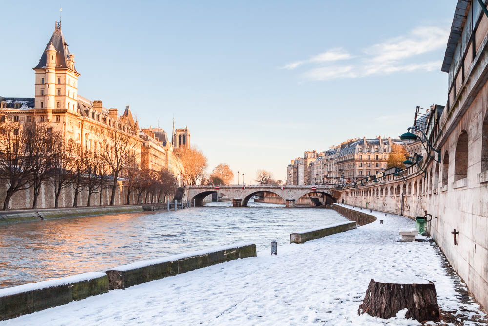 Snow in Paris - Paris sous la neige - Loic Lagarde -1-3