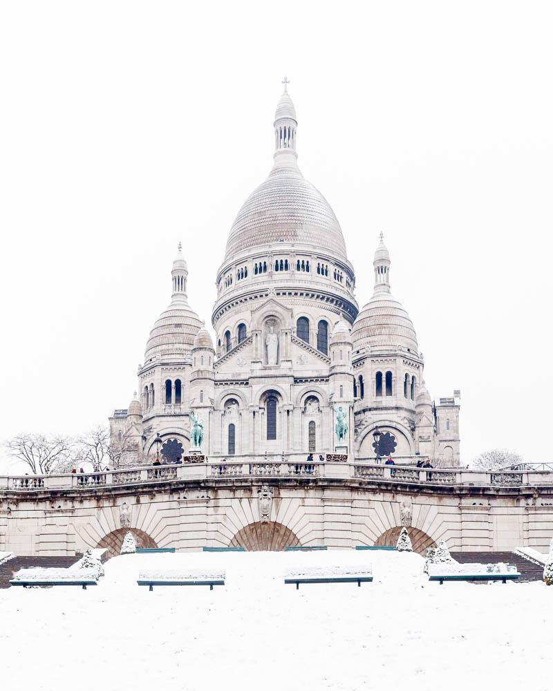 Snow in Paris - Paris sous la neige - Loic Lagarde -13