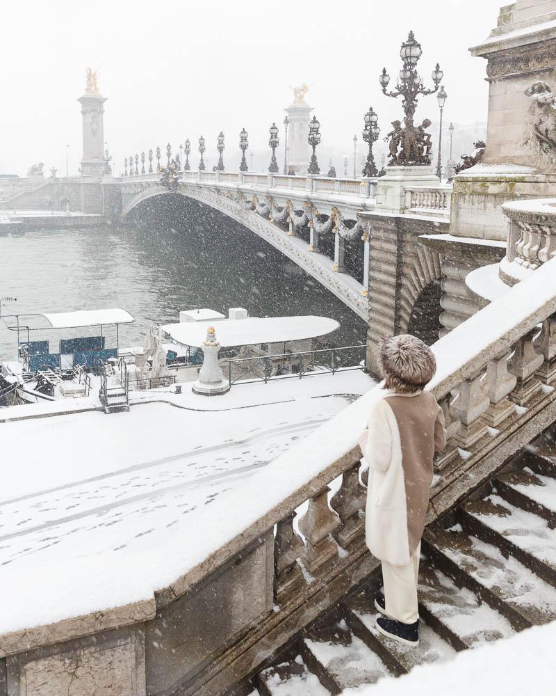 Snow in Paris - Paris sous la neige - Loic Lagarde -32