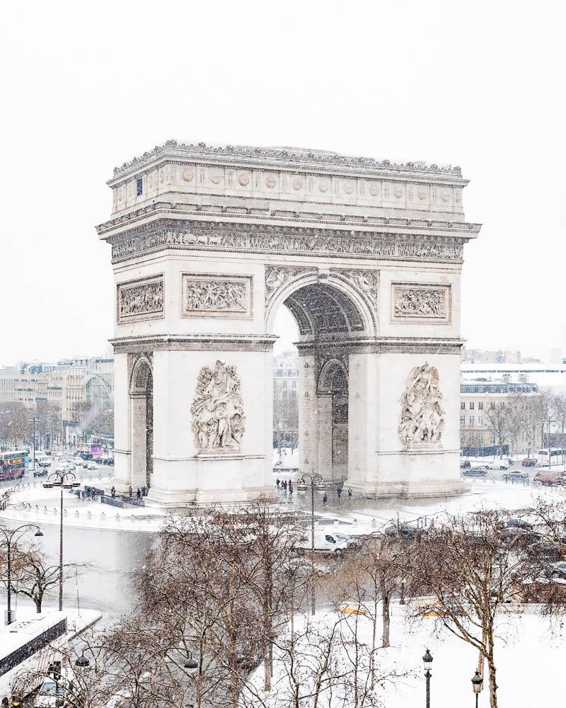 Snow in Paris - Paris sous la neige - Loic Lagarde -36
