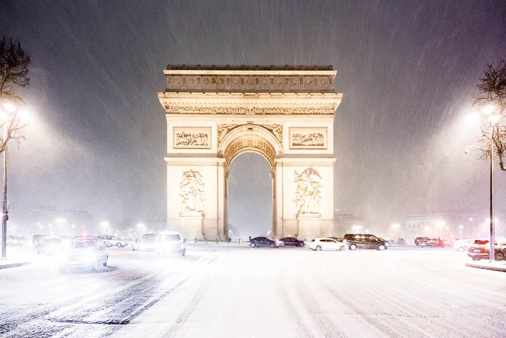 Snow in Paris - Paris sous la neige - Loic Lagarde -4