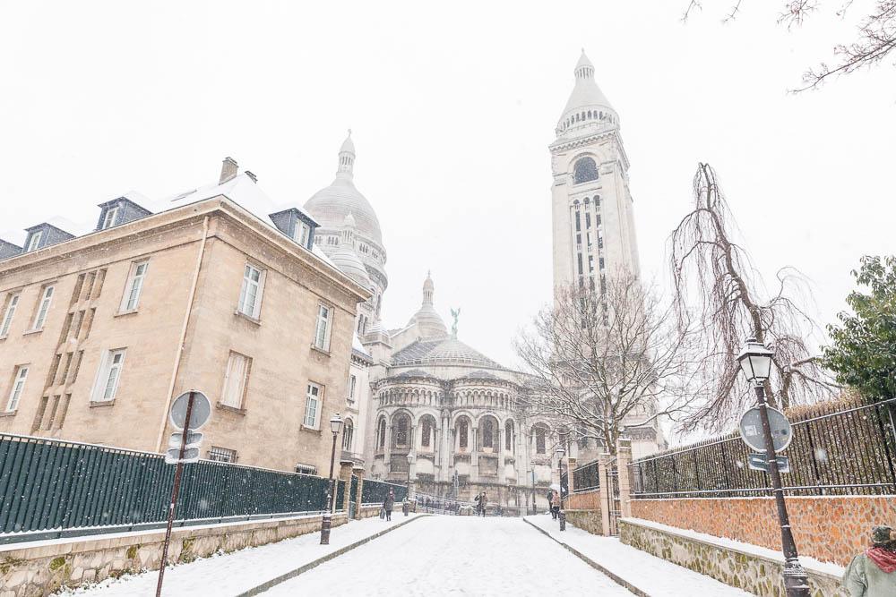 Snow in Paris - Paris sous la neige - Loic Lagarde -50
