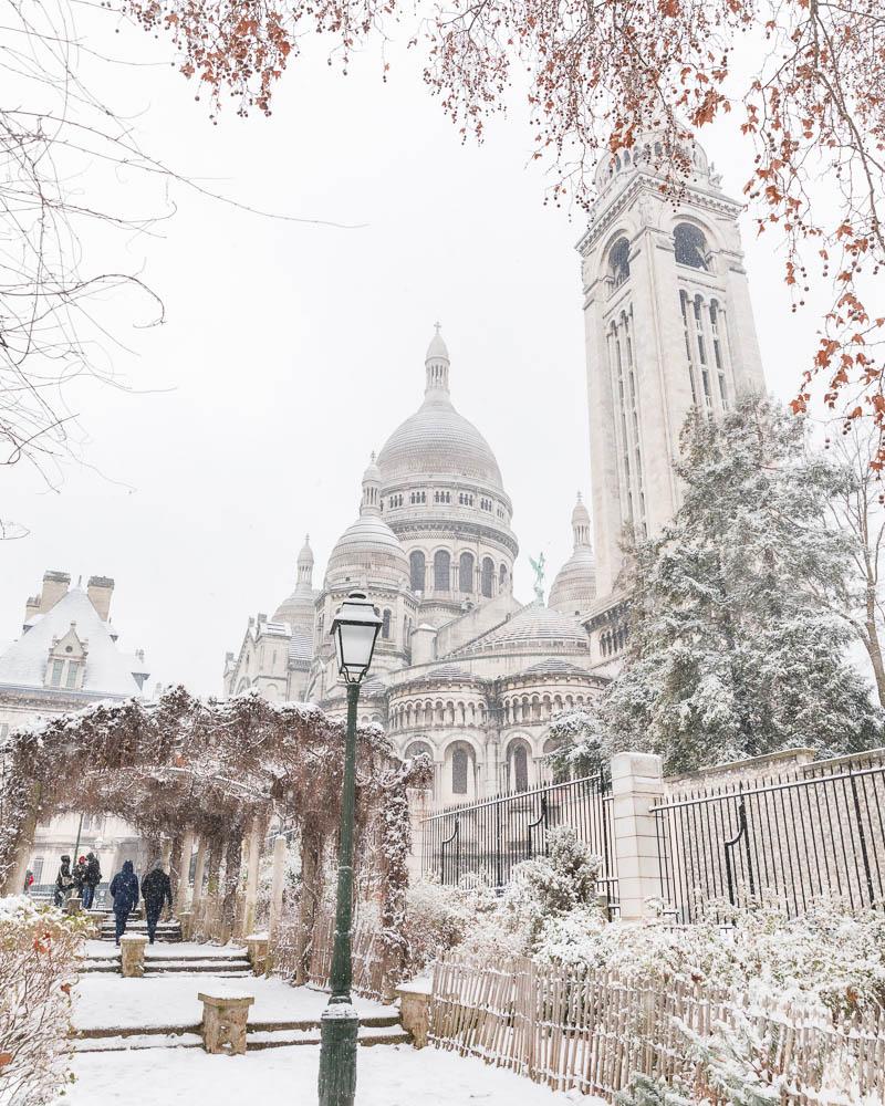Snow in Paris - Paris sous la neige - Loic Lagarde -52