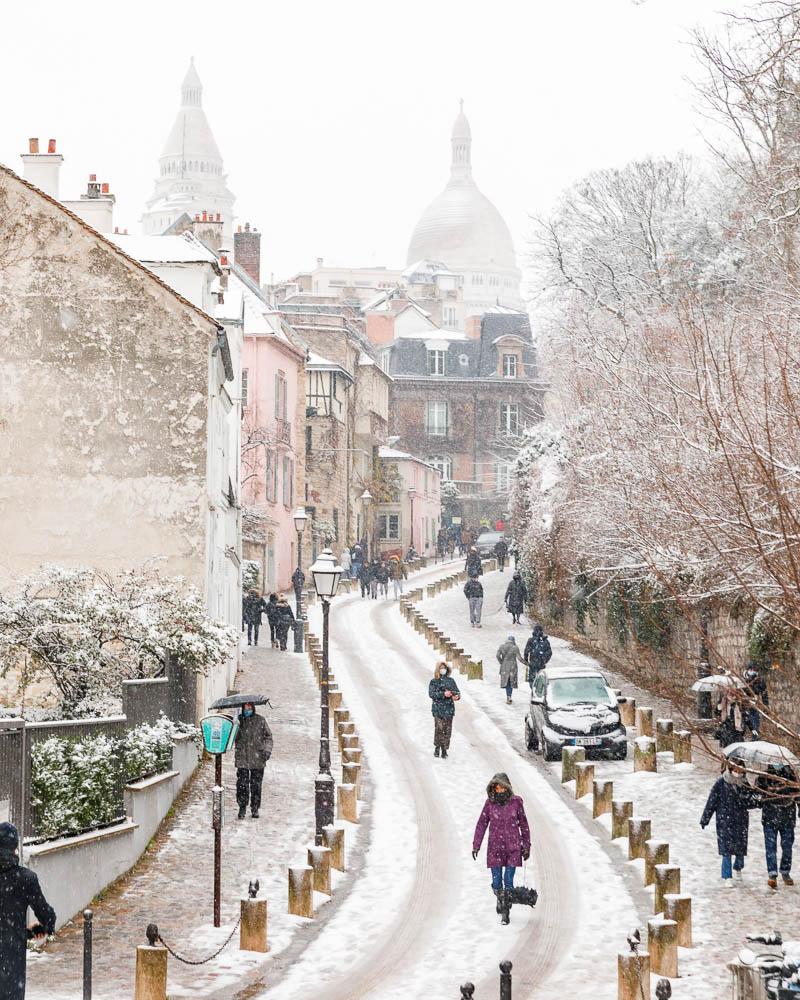 Snow in Paris - Paris sous la neige - Loic Lagarde -60
