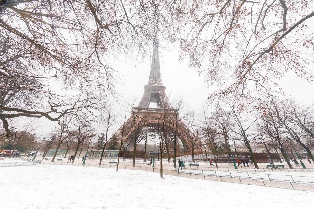 Snow in Paris - Paris sous la neige - Loic Lagarde -70