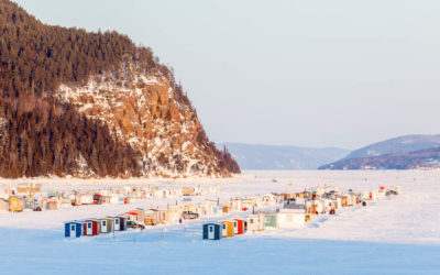 Quebec in winter : Charlevoix and Saguenay