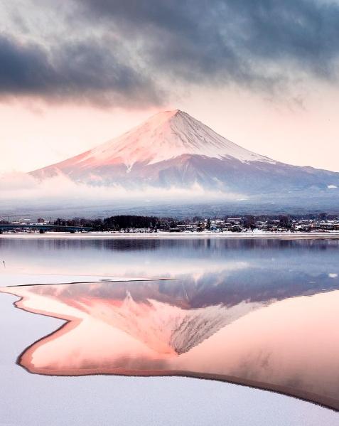 Mont Fuji - Winter - Japon - 001