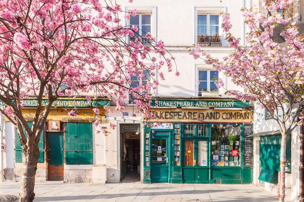 Paris Sping Printemps loic lagarde-5 - Shakespeare n co (voir nom du square) early april